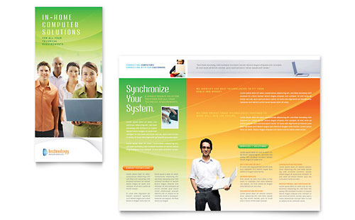 Computer & IT Services - Brochure Template