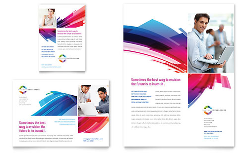 Software Solutions Flyer & Ad Template