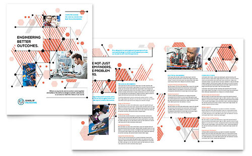 Computer Engineering Brochure Template