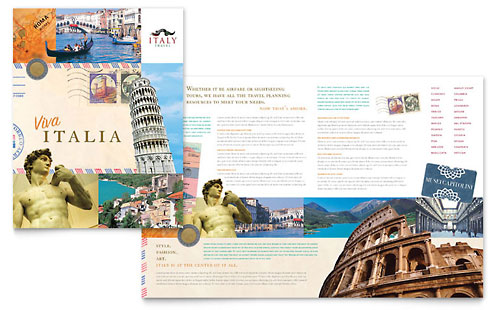 Italy Travel - Brochure Template