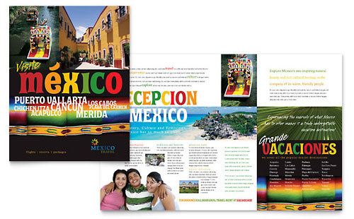 Travel & Tourism Brochures | Templates & Designs