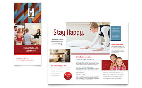 Hotel Brochure Template - Publisher
