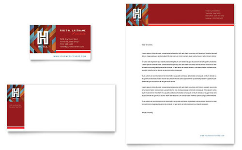 Hotel Business Card Template