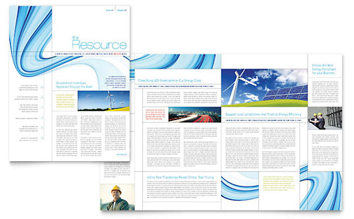 Renewable Energy Consulting Newsletter Template