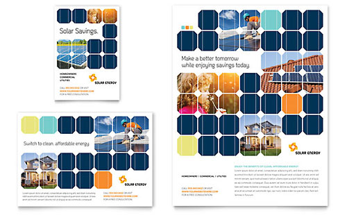 Solar Energy Flyer & Ad Template
