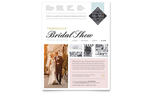 Bridal Show Flyer Template