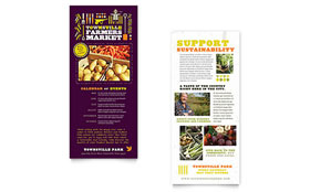 Farmers Market - Rack Card
