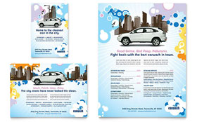 Car Wash - Flyer & Ad