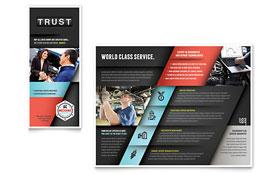 Auto Mechanic - Brochure Template
