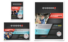 Auto Mechanic - Flyer & Ad Template