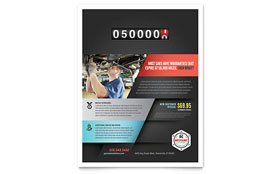 Auto Mechanic - Flyer Template
