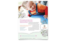 Babysitting & Daycare - Leaflet