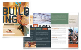 Home Builders & Construction - QuarkXPress Brochure Template