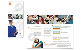 College & University - Apple iWork Pages Brochure