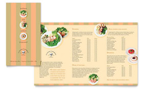 Catering Company - Take-out Brochure
