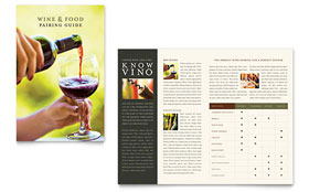 Vineyard & Winery - Adobe InDesign Brochure
