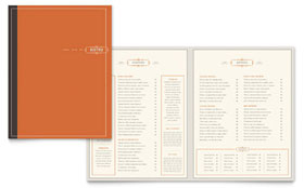 Bistro & Bar - Brochure Template