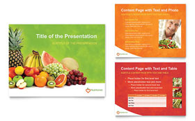 Nutritionist & Dietitian - PowerPoint Presentation Template