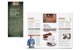 Coffee Shop - Apple iWork Pages Brochure Template
