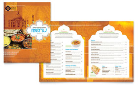 Indian Restaurant - Menu