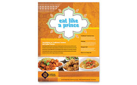 Indian Restaurant - Leaflet