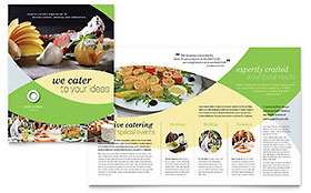 Food Catering - Brochure Template
