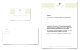 Life & Auto Insurance Company - Business Card & Letterhead
