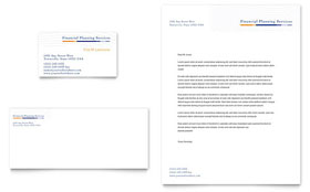 Financial Planning & Consulting - Business Card & Letterhead