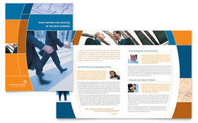 Investment Services - Microsoft Word Brochure