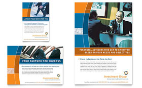 Investment Services - Flyer & Ad Template