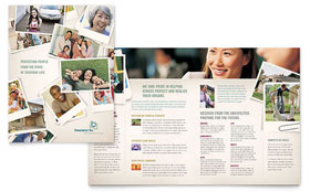 Life Insurance Company - Apple iWork Pages Brochure Template