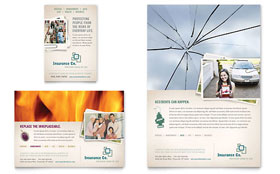 Life Insurance Company - Flyer & Ad