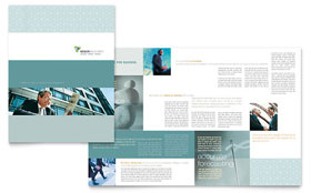 Wealth Management Services - Desktop Publishing Brochure