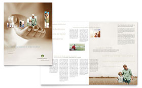 Retirement Investment Services - Adobe InDesign Brochure Template