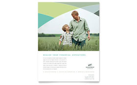 Financial Advisor - Flyer Template