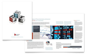 Investment Bank - Brochure Template