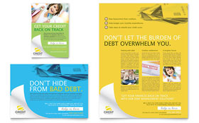 Consumer Credit Counseling - Flyer & Ad Template
