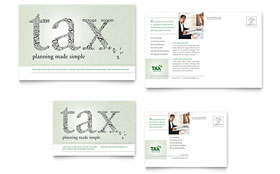 Accounting & Tax Services - Postcard