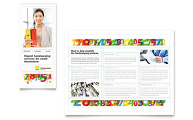 Bookkeeping Services - Brochure Template