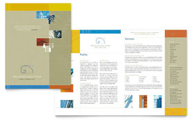 Architectural Firm - Adobe InDesign Brochure Template