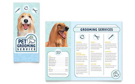 Pet Grooming Service - Brochure