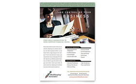 Bookkeeping & Accounting Services - Flyer