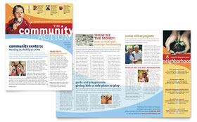 Community Non Profit - Newsletter Template