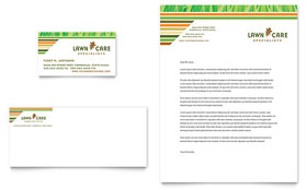 Lawn Care & Mowing - Business Card & Letterhead