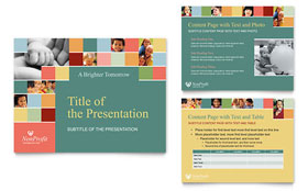Non Profit Association for Children - PowerPoint Presentation Template