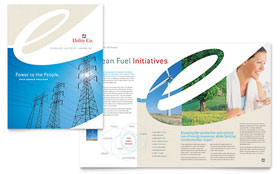 Utility & Energy Company - Brochure Template