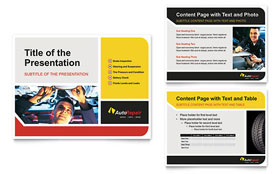 Auto Repair - PowerPoint Presentation Template