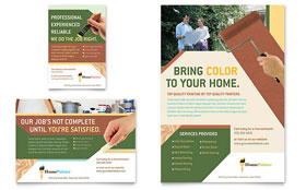 Painter & Painting Contractor - Print Ad