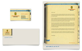 Home Repair Services - Business Card & Letterhead Template