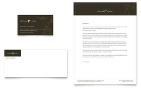 Women's Clothing Store - Business Card & Letterhead